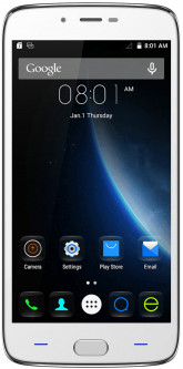 Doogee Y200 Silver/White