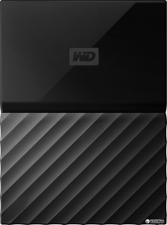 Жесткий диск Western Digital My Passport 4TB WDBYFT0040BBK-WESN 2.5 USB 3.0 External Black