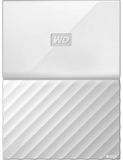 Жесткий диск Western Digital My Passport 4TB WDBYFT0040BWT-WESN 2.5 USB 3.0 External White