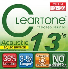 Cleartone 7613 Acoustic 80/20 Bronze Medium 13-56