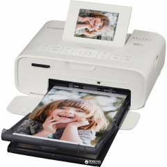 Canon Selphy CP1200 White with Wi-Fi + Battery-Pack NB-CP2LH (AJ0600C014AA + AJ0749C001AA)