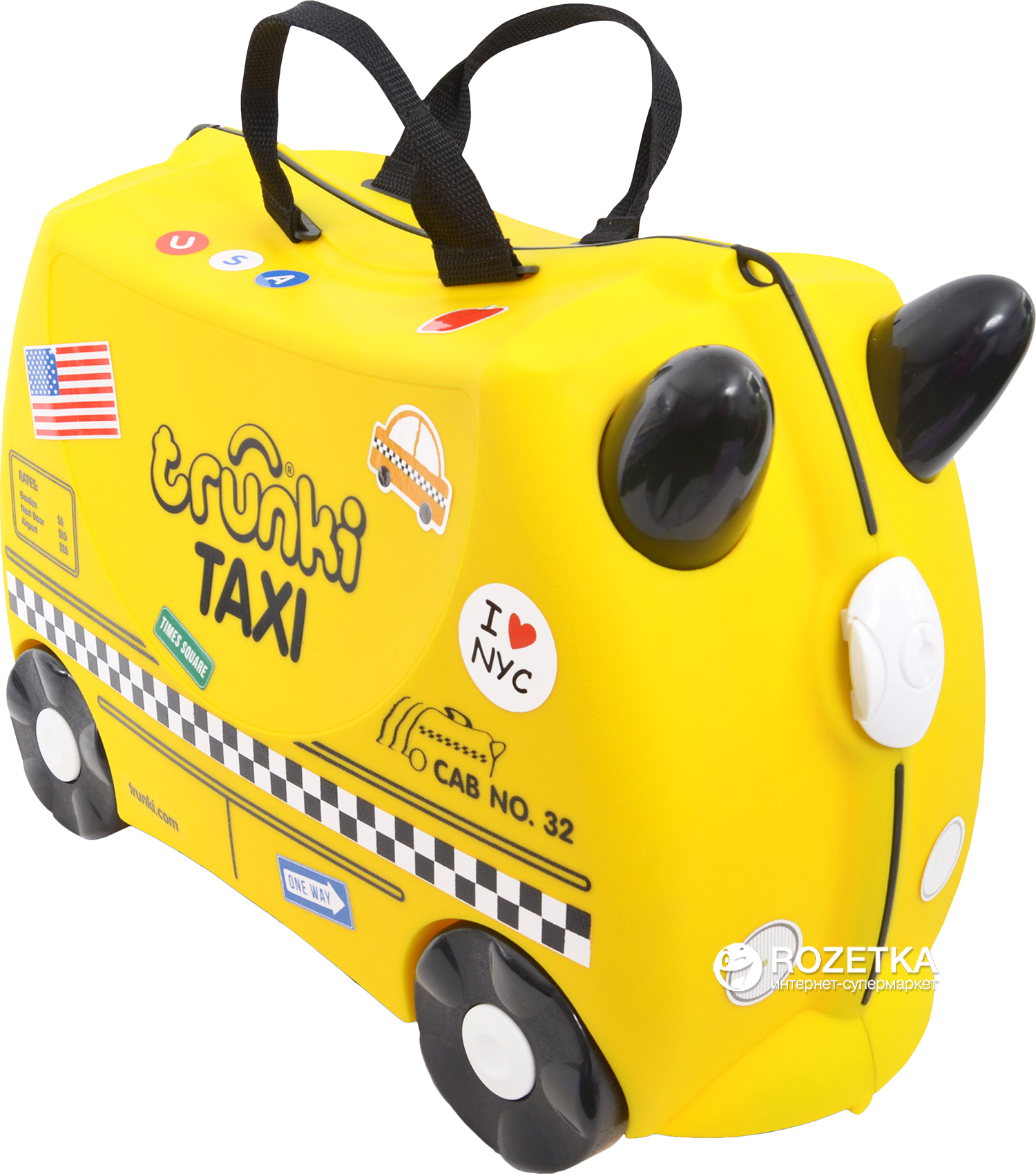 Rozetka.ua   Чемоданчик Trunki Tony the Taxi (TRU-0263). Цена ... 2b6a7ecd674