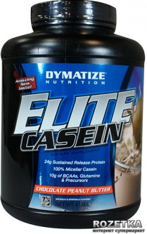Протеин Dymatize Nutrition Elite Casein 1.818 кг Chocolate Peanut Butter (705016224845)