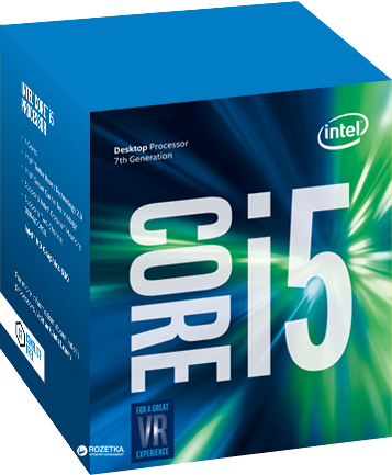 Процессор Intel Core i5-7400 3.0GHz/8GT/s/6MB (BX80677I57400) s1151 BOX