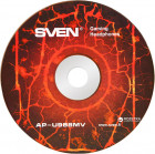 Навушники Sven AP-U988MV Black-Red (AP-U988MV black-red) - зображення 4