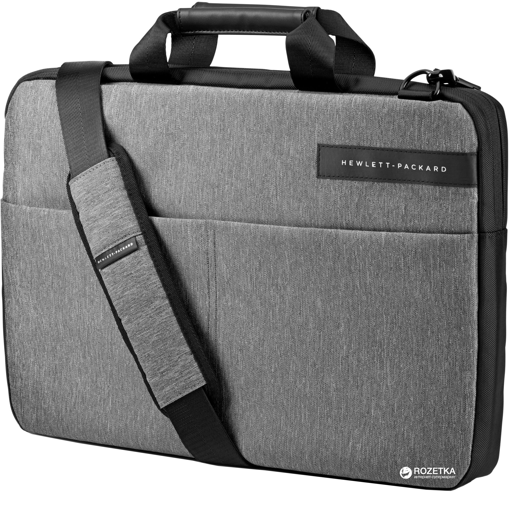 28216a5a57a3 ROZETKA | Сумка для ноутбука HP Signature 15.6'' Grey/Black (L6V68AA ...