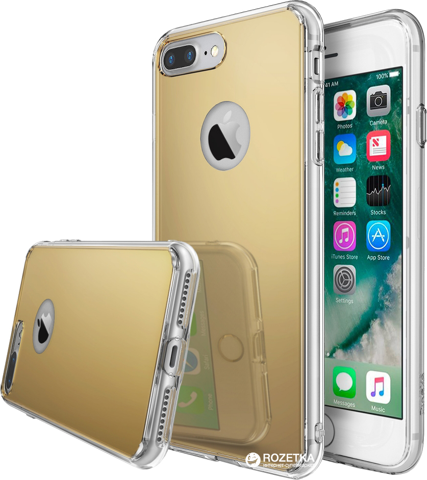 Панель Ringke Fusion Mirror для Apple iPhone 7 Plus/8 Plus Royal Gold (154148)