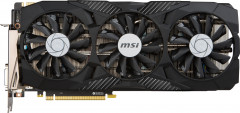 MSI PCI-Ex GeForce GTX 1070 Duke 8GB GDDR5 (256bit) (1607/8108) (DVI, HDMI, 3 x DisplayPort) (GTX 1070 DUKE 8G)
