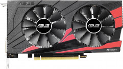 Asus PCI-Ex GeForce GTX 1050 Expedition OC 2GB GDDR5 (128bit) (1404/7008) (DVI, HDMI, DisplayPort) (EX-GTX1050-O2G)