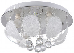 Люстра Brille BCL-418S/4xE14+5x1W LED (22-102)
