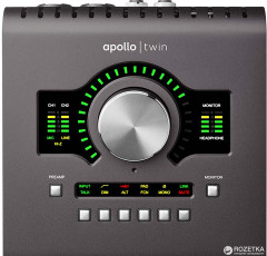 Аудиоинтерфейс Universal Audio Apollo Twin Solo (218936)