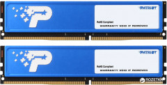 Оперативная память Patriot DDR4-2400 16384MB PC4-19200 (Kit of 2x8192) Signature Line (PSD416G2400KH)