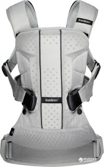 Сумка-кенгуру Baby Bjorn Baby Carrier One Air Mesh Серая (98004)