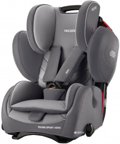 Автокресло Recaro Young Sport Hero Aluminium Grey (6203.21503.66)