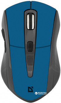 Мышь Defender Accura MM-965 Wireless Black/Blue (52967)