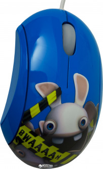 Мышь SteelSeries Souris Lapins Cretins BWAAAAH! USB Blue (SS62046)