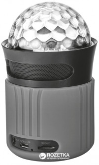 Trust Urban Dixxo Go Wireless Bluetooth Speaker Grey (21345)
