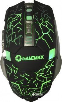 Мышь GameMax GX1 USB Black