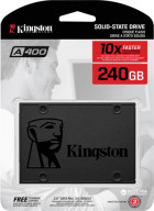 "Kingston SSDNow A400 240GB 2.5"" SATAIII 3D TLC (SA400S37/240G) - зображення 4"