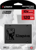 "Kingston SSDNow A400 120GB 2.5"" SATAIII 3D TLC (SA400S37/120G) - зображення 4"