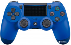 Беспроводной геймпад PlayStation Dualshock V2 Bluetooth PS4 Wave Blue