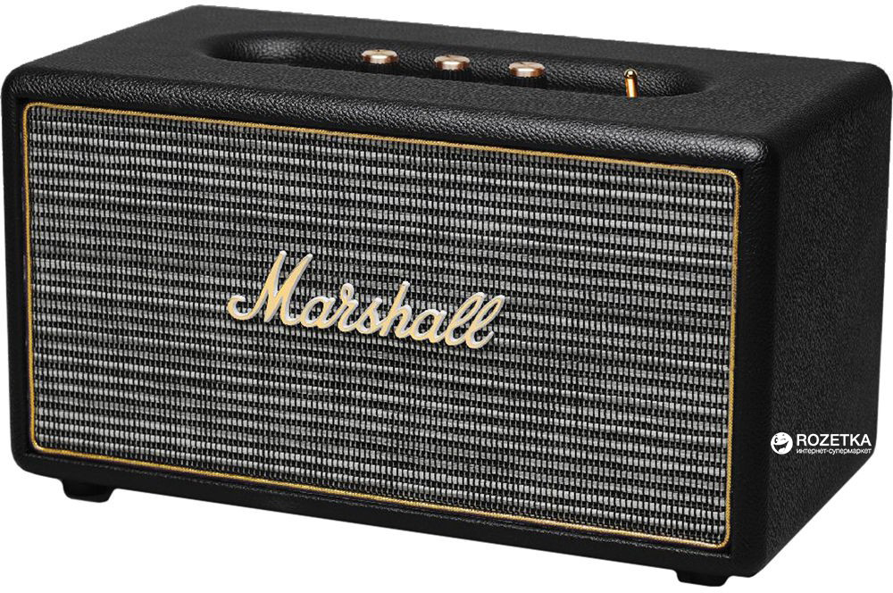 Marshall Louder Speaker Stanmore Bluetooth Black (4091627) 5f06424fcded9