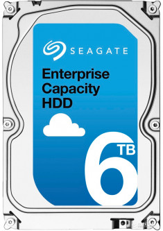 "Жесткий диск Seagate Enterprise Capacity HDD 6TB 7200rpm 256MB ST6000NM0095 3.5"" SAS"