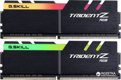 Оперативная память G.Skill DDR4-4133 16384MB PC4-33064 (Kit of 2x8192) Trident Z RGB (F4-4133C19D-16GTZR)