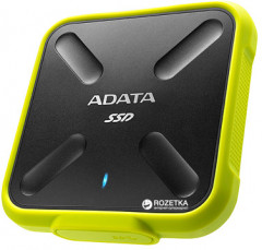 ADATA SD700 256GB USB 3.1 TLC Yellow (ASD700-256GU3-CYL) External