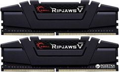 Оперативная память G.Skill DDR4-3400 32768MB PC4-27200 (Kit of 2x16384) Ripjaws V (F4-3400C16D-32GVK)