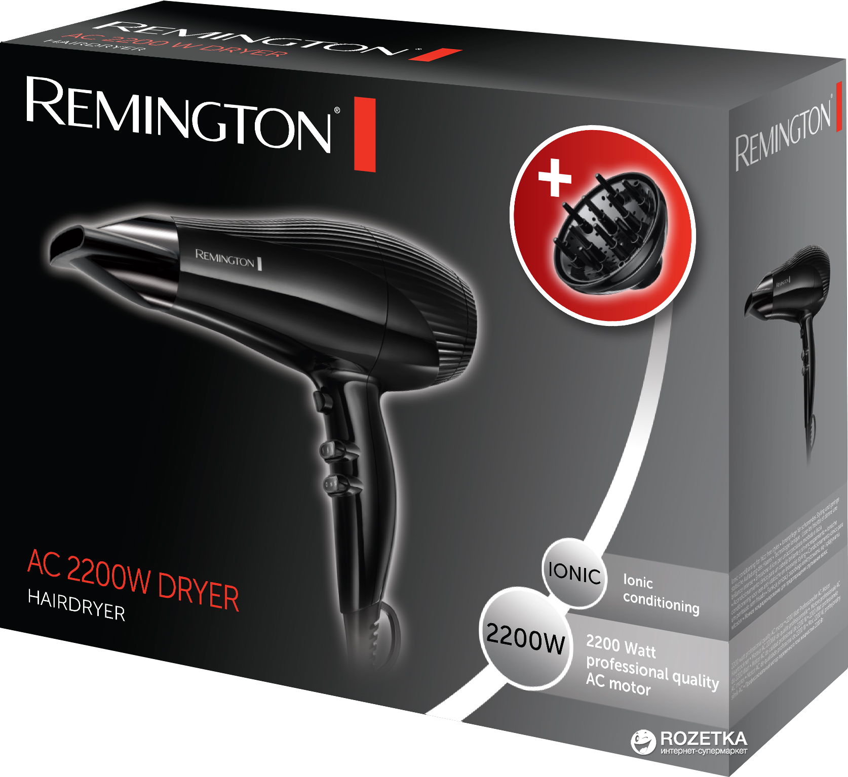 Фен REMINGTON AC3300 b357be00f52a9