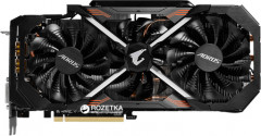 Gigabyte PCI-Ex GeForce GTX 1080 Ti Aorus 11GB GDDR5X (352bit) (1569/11010) (DVI, 3 x HDMI, 3 x Display Port) (GV-N108TAORUS-11GD)