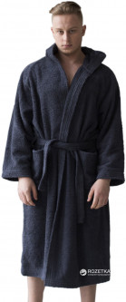 Халат махровый Sleeper Set Men's Bath Robe SS-GMBR S-M Graphite (ROZ6205003878)