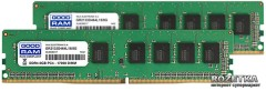 Оперативная память Goodram DDR4-2133 16384MB PC4-17000 (Kit of 2x8192) (GR2133D464L15/16GDC)