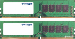 Оперативная память Patriot DDR4-2400 16384MB PC4-19200 (Kit of 2x8192) Signature Line (PSD416G2400K)