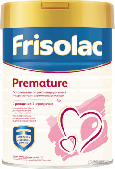 Суміш Friso Frisolac Premature 400 г (8716200718127)