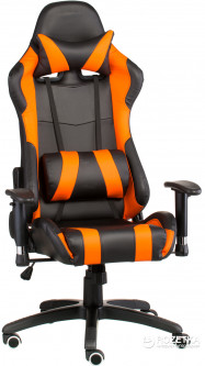 Кресло Special4You ExtremeRace Black/Orange (E4749)