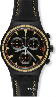 Мужские часы SWATCH Black Species YCB4024