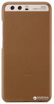 Бампер Huawei Leica Leather для Huawei P10 Plus Brown (51991942)