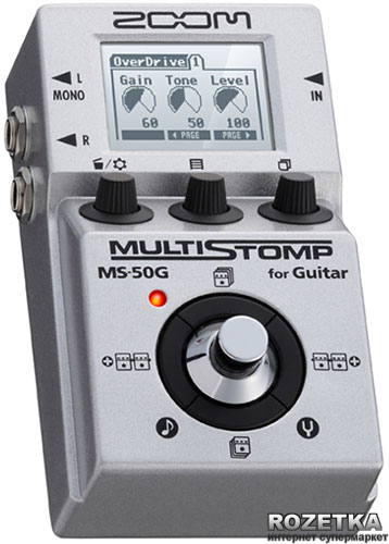 Zoom MS-50G MultiStomp Drivers for PC