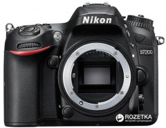 Nikon D7200 Body Black (VBA450AE)