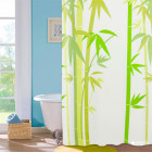 Шторка для ванної Viland NJ10109 Green Bamboo 180х180 см