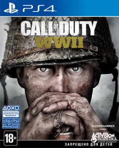 Игра Call of Duty: WWII для PS4 (Blu-ray диск, Russian version)