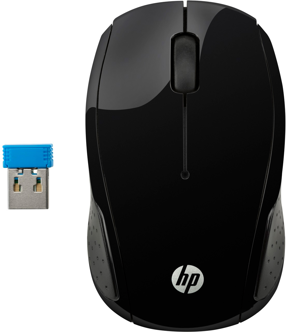 Мышь HP 200 Wireless Black