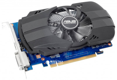 Asus PCI-Ex GeForce GT 1030 Phoenix OC 2GB GDDR5 (64bit) (1252/6008) (DVI, HDMI) (PH-GT1030-O2G)