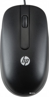 Мышь HP 1000dpi USB Black (QY778AA)