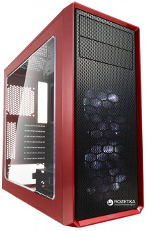 Корпус Fractal Design Focus G Window Red (FD-CA-FOCUS-RD-W)