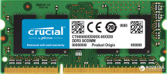 Оперативная память Crucial SODIMM DDR3L-1600 2048MB PC3L-12800 (CT25664BF160BJ)