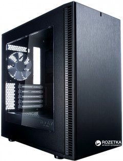 Корпус Fractal Design Define Mini C Window Black (FD-CA-DEF-MINI-C-BK-W)