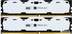 Оперативная память Goodram DDR4-2400 16384MB PC4-19200 (Kit of 2x8192) IRDM White (IR-W2400D464L15S/16GDC)